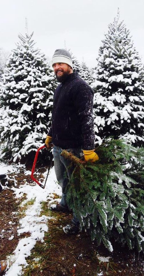 Cut your Christmas tree yourself